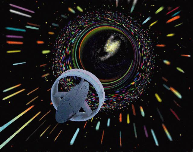 You Could Travel Through a Wormhole, but it's Slower Than Going Through Space