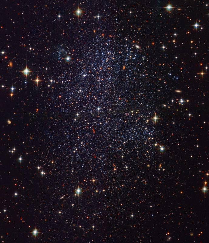 Sagittarius Dwarf Galaxy. Image credit: Hubble