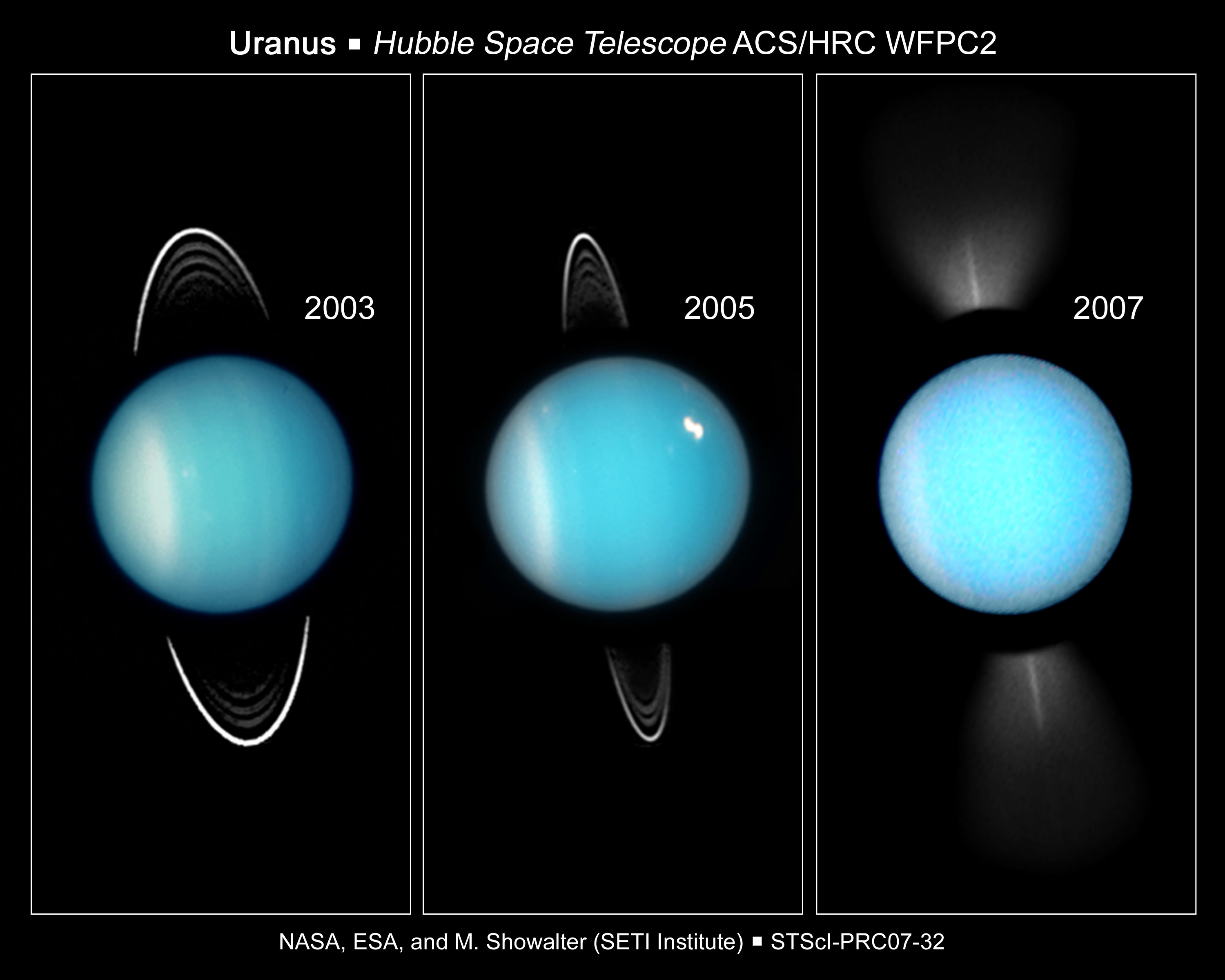 The planet uranus universe today uranus image credit hubble biocorpaavc Gallery