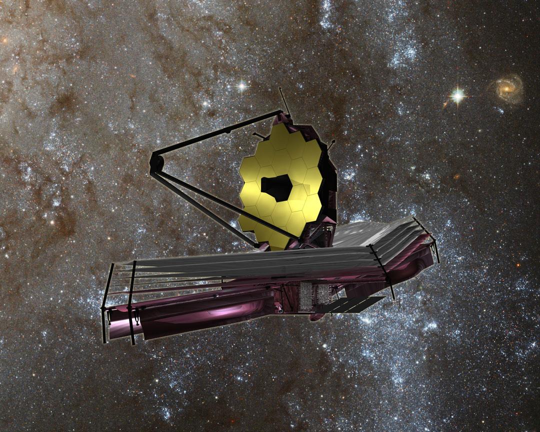 James Webb Space Telescope. Image credit: NASA/JPL