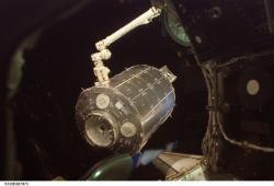Columbus module.. Image: NASA