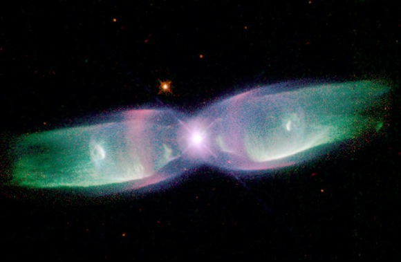 Butterfly Nebula. Image credit: NASA