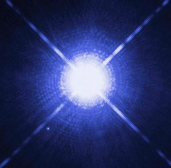 Not a black dwarf ... yet (white dwarf Sirius B)