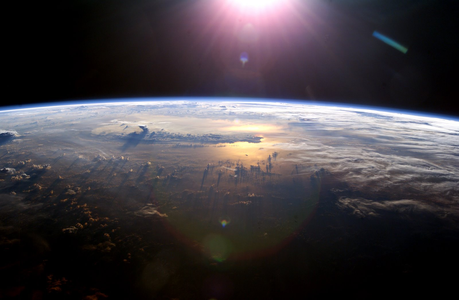 The Earth as viewed from the ISS (NASA)