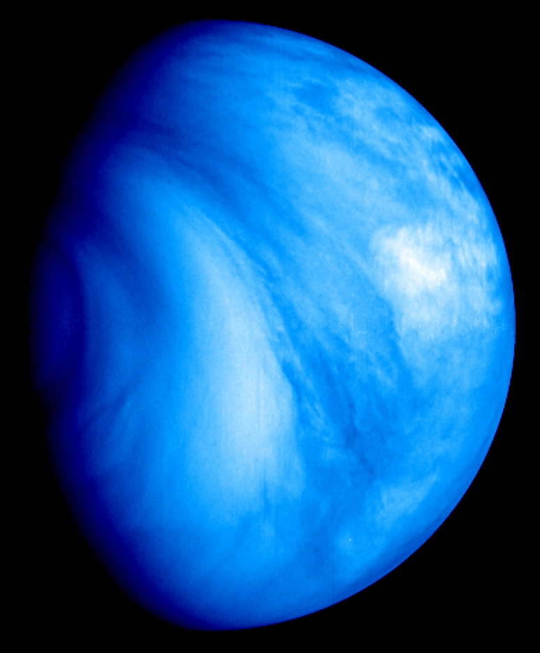 View of Venus from Venus Express. Image credit: ESA