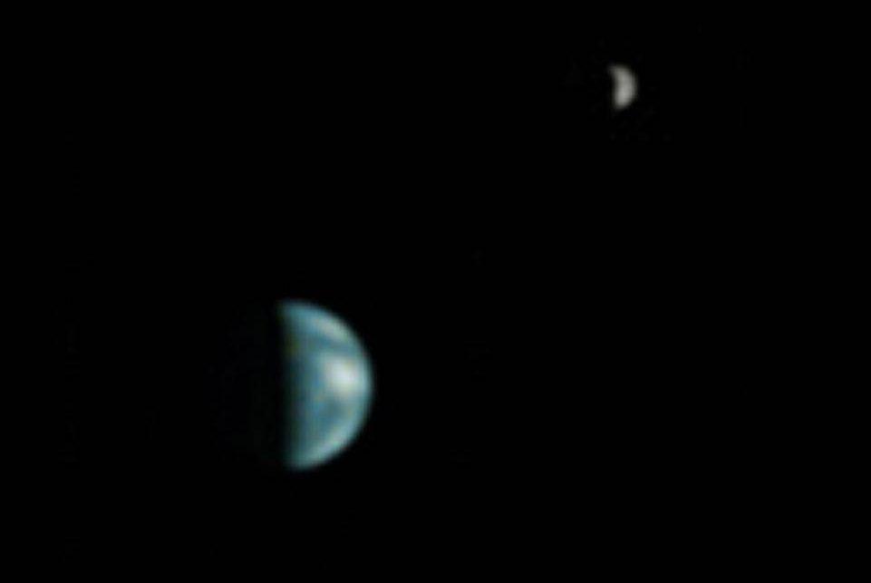 moon shots of earth and mars - photo #9