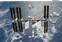 The space station - long-period space missions can cause tension on board (NASA)