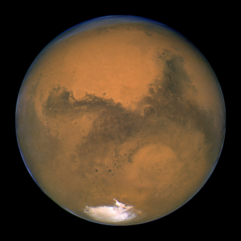 Planet Mars is the 4th planet from