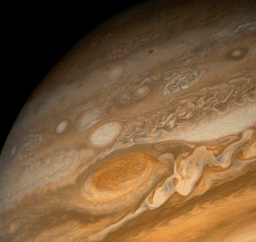 Image Gallery of Planet Jupiter Surface