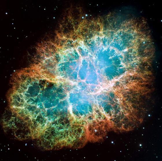 Crab Nebula.  Credit:  NASA/ESA