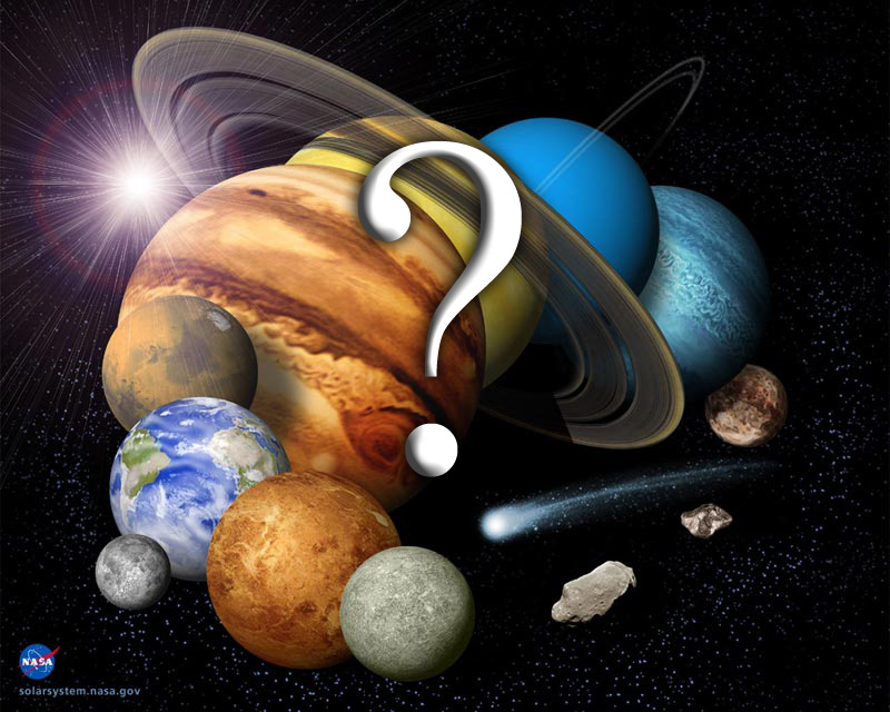 Ten Mysteries of the Solar System - Universe Today
