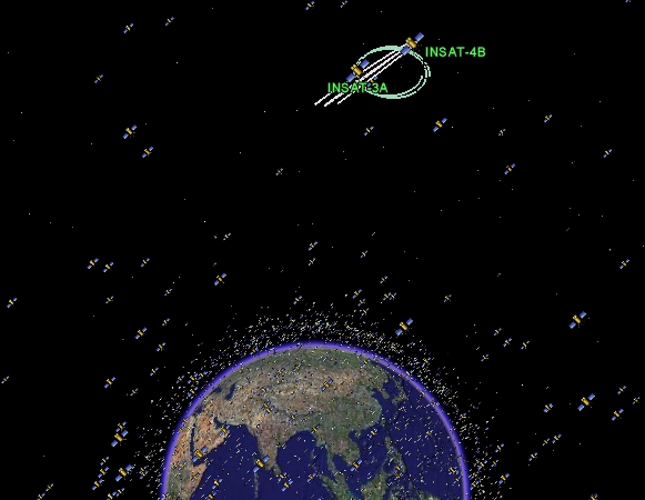 Explore Earths Satellites With Google Earth Universe Today - Google earth satellite