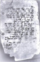 Page of Ramon's diary that was restored using Photoshop™ and Image-Pro Plus™