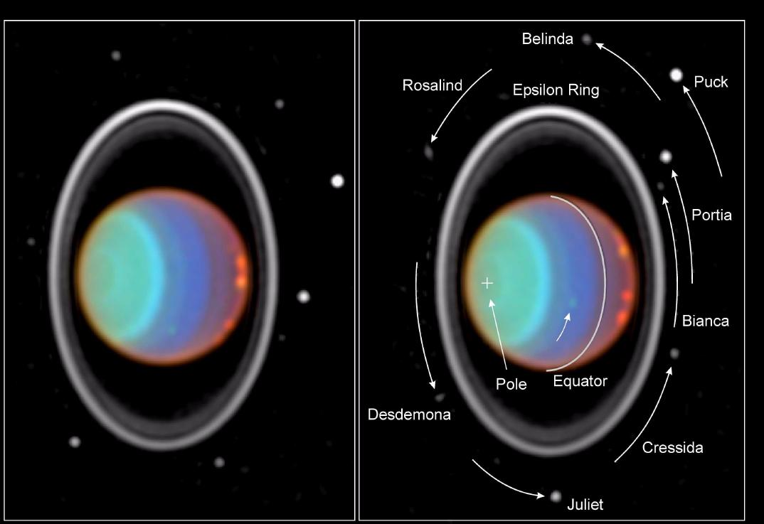 How Many Rings Does Uranus Have Universe Today