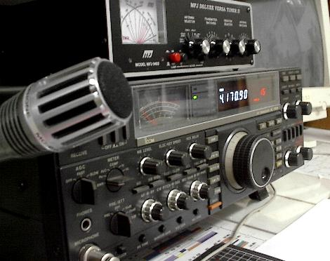 Radio equipment (Palos Verdes Amateur Radio Club)