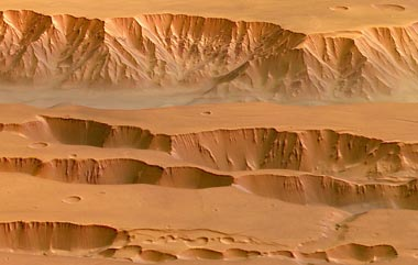 Coprates Chasma and the