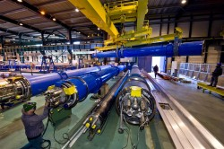 replacement parts were inspected at CERN over the weekend (CERN)