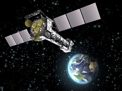 XMM Newton Spacecraft.  Credit: ESA