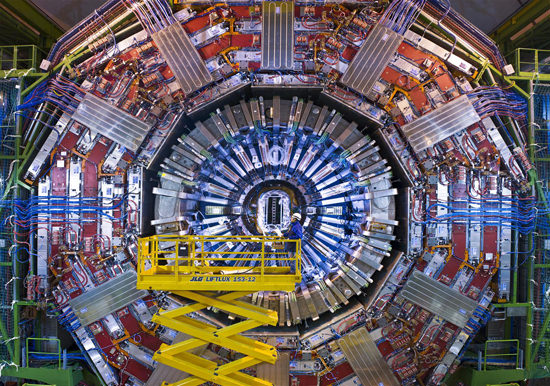 The Large Hadron Collider at CERN. Credit: CERN/LHC