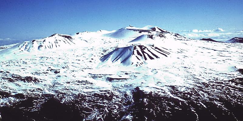 Mauna Kea. Image credit: USGS