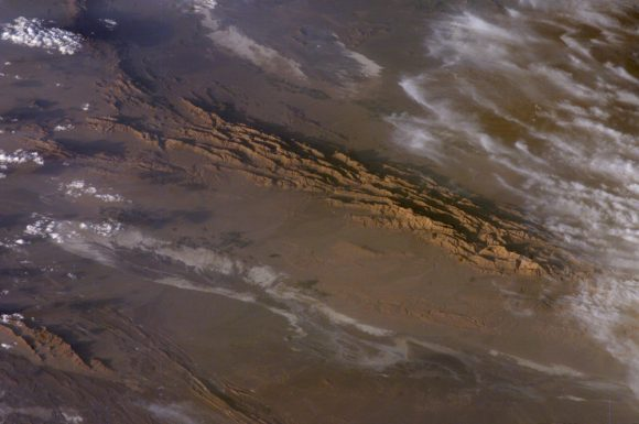 The Lut Desert of Iran, as observed from space by NASA's Earth Observatory. Credit: NASA