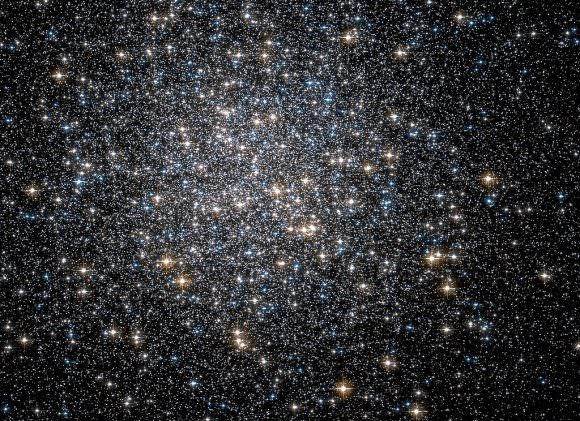 The heart of Hercules Globular Cluster; Credit: ESA/Hubble and NASA