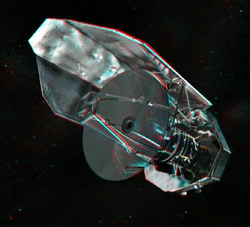 Herschel in 3-D. Credit:  Nathanial Burton-Bradford.