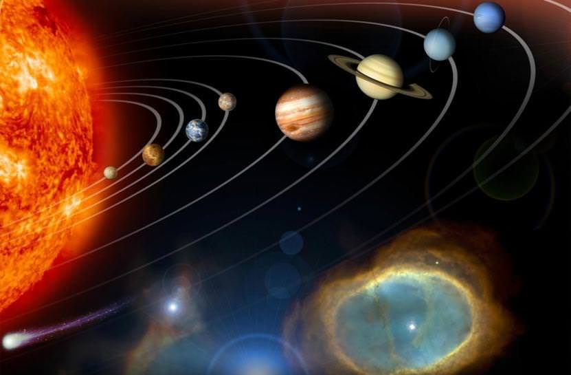 Planets and other objects in our Solar System. Credit: NASA.