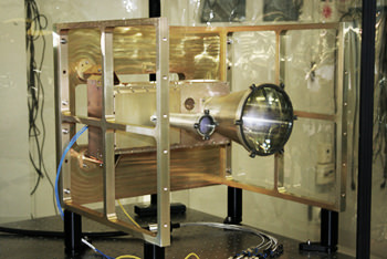 LOLA Engineering model. Credit: Goddard Space Flight Center