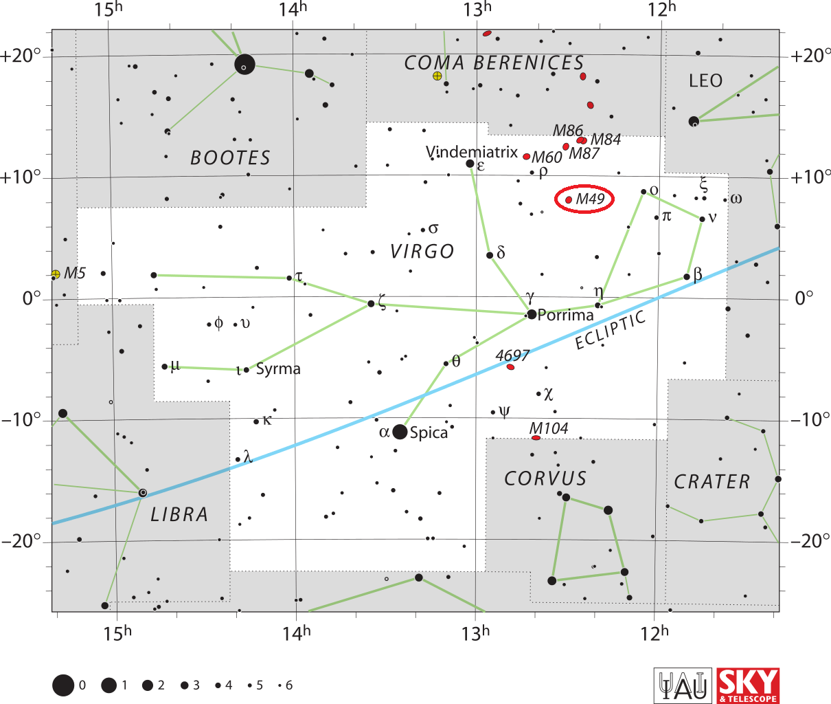 Deep Sky Objects Archives Universe Today Raven 4400 Wiring Diagram The Location Of Messier 49 Within Virgo Constellation Credit Iau And Telescope Magazine Roger Sinnott Rick Fienberg