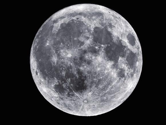 A full moon captured July 18, 2008. Credit: NASA/Sean Smith