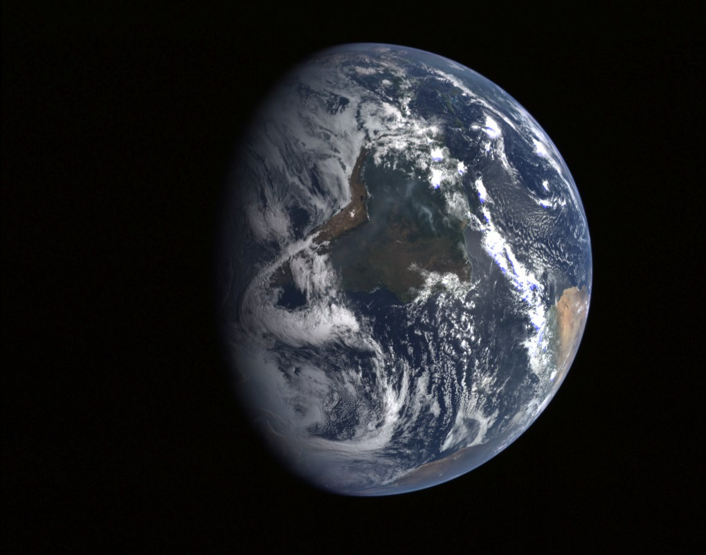 Planet Earth Seen From Messenger Image Credit NASA