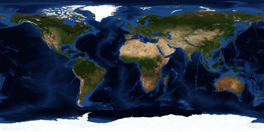 Image result for satellite map of the world
