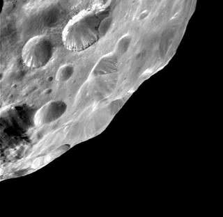 Cassini image of Phoebe. Credit: NASA/JPL