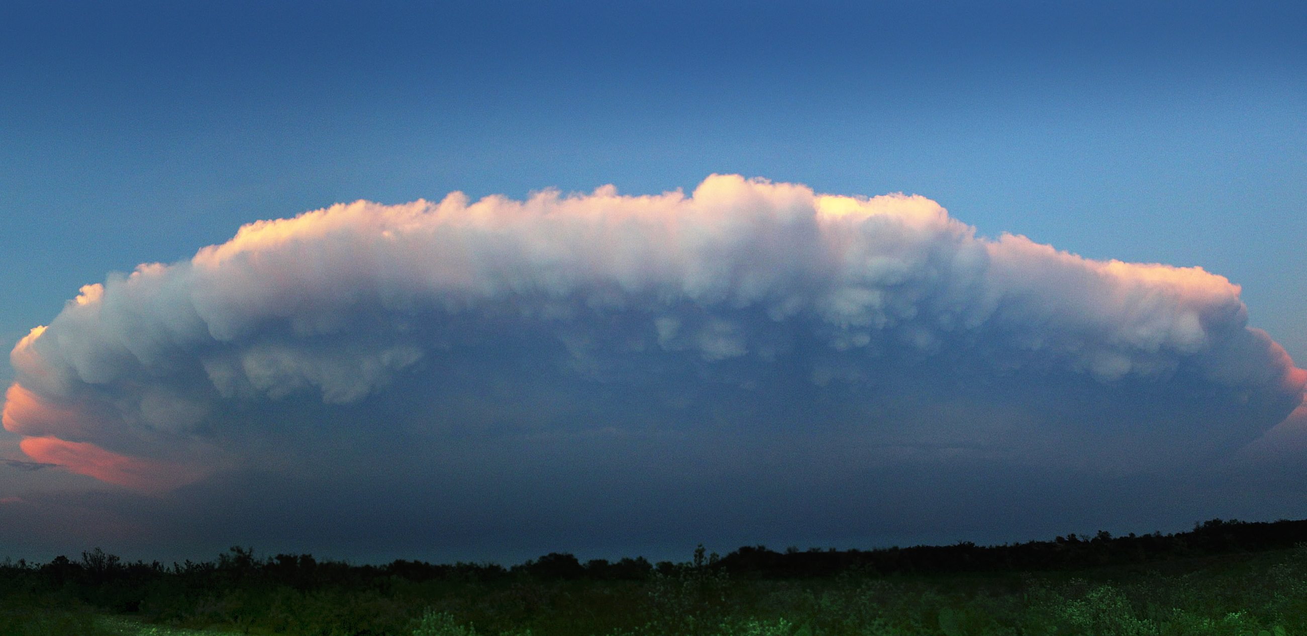 Cumulonimbus clouds. Credit: NASA