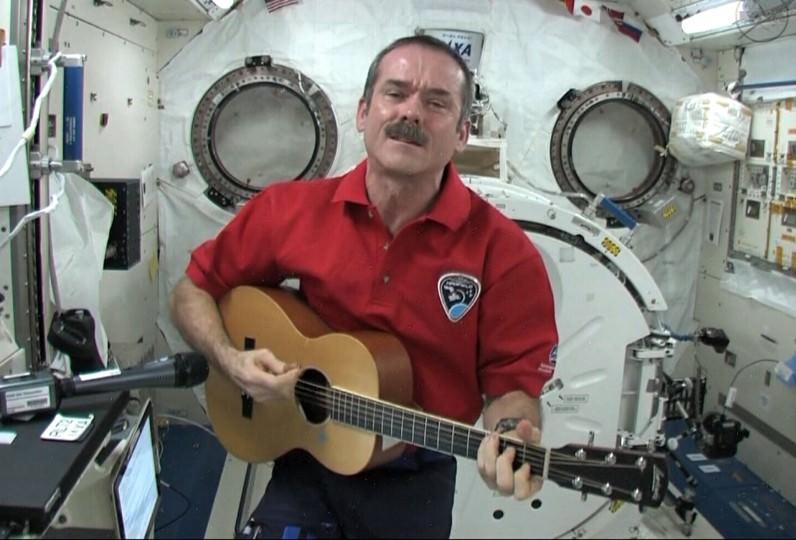 Settle The Moon Before Mars Says Astronaut Chris Hadfield