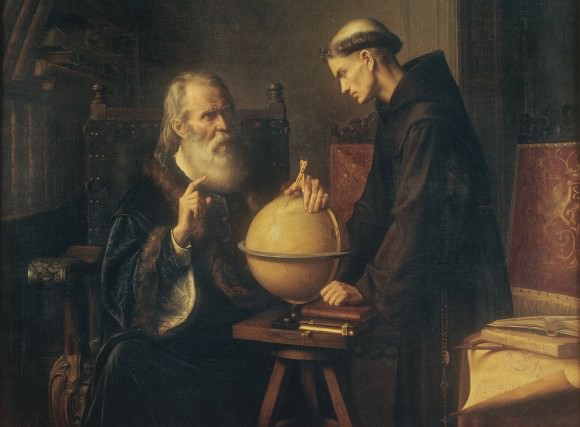 Galileo Demonstrating the New Astronomical Theories at the University of Padua by Félix Parra (1873). Credit: munal.gob.mx