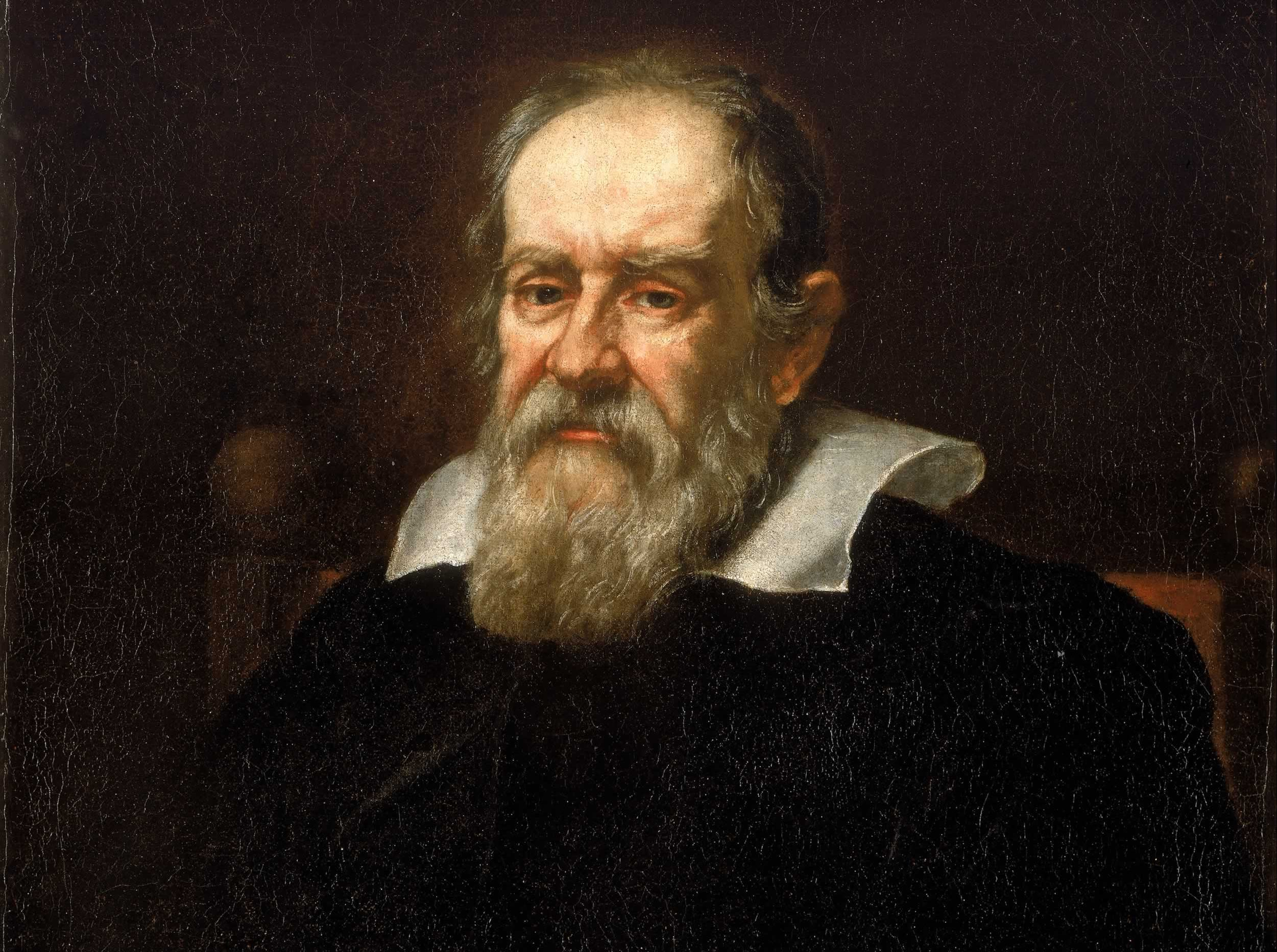 Portrait of Galileo Galilei by Giusto Sustermans (1636). Credit: nmm.ac.uk