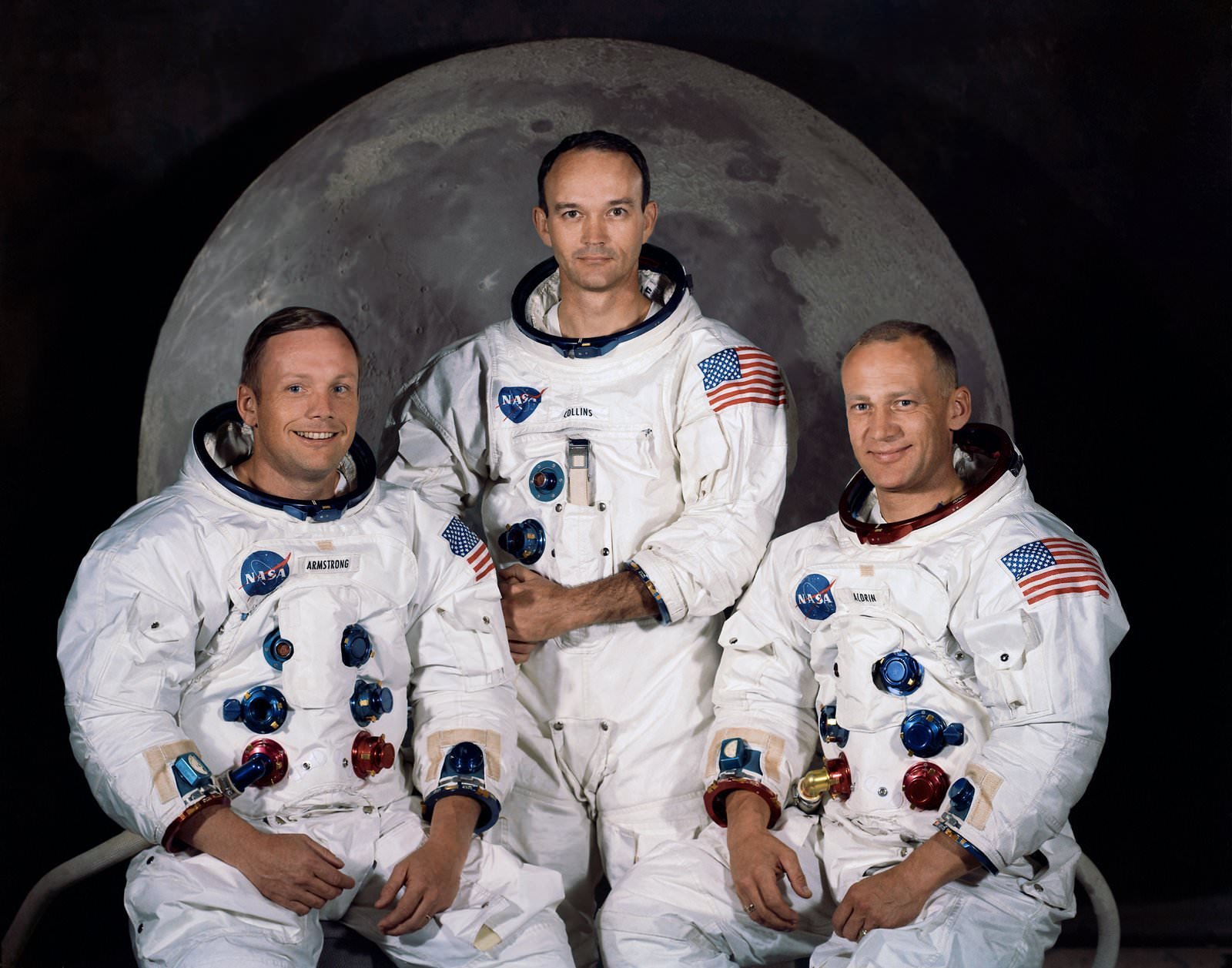 Apollo 11 Crew Photo. Credit: NASA
