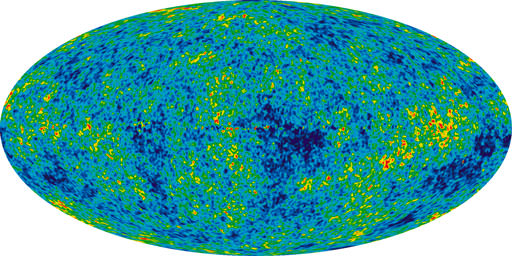 Seven Year Microwave Sky (Credit: NASA/WMAP Science Team)