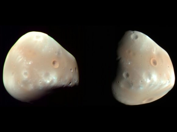 The Moons of Mars