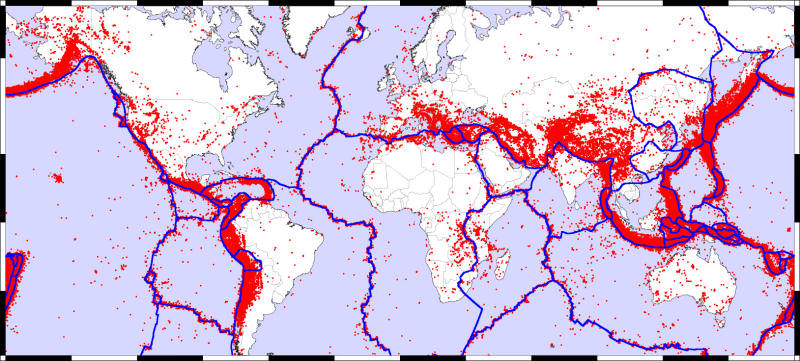 What Is The Pacific Ring Of Fire Universe Today - Map of us volcanoes
