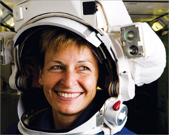 Peggy Whitson, a heroine of science & technology