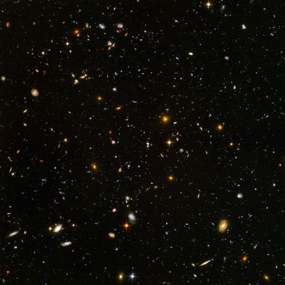 The original Hubble Ultra-Deep Field (Credit NASA, ESA, and S. Beckwith (STScI) and the HUDF Team).