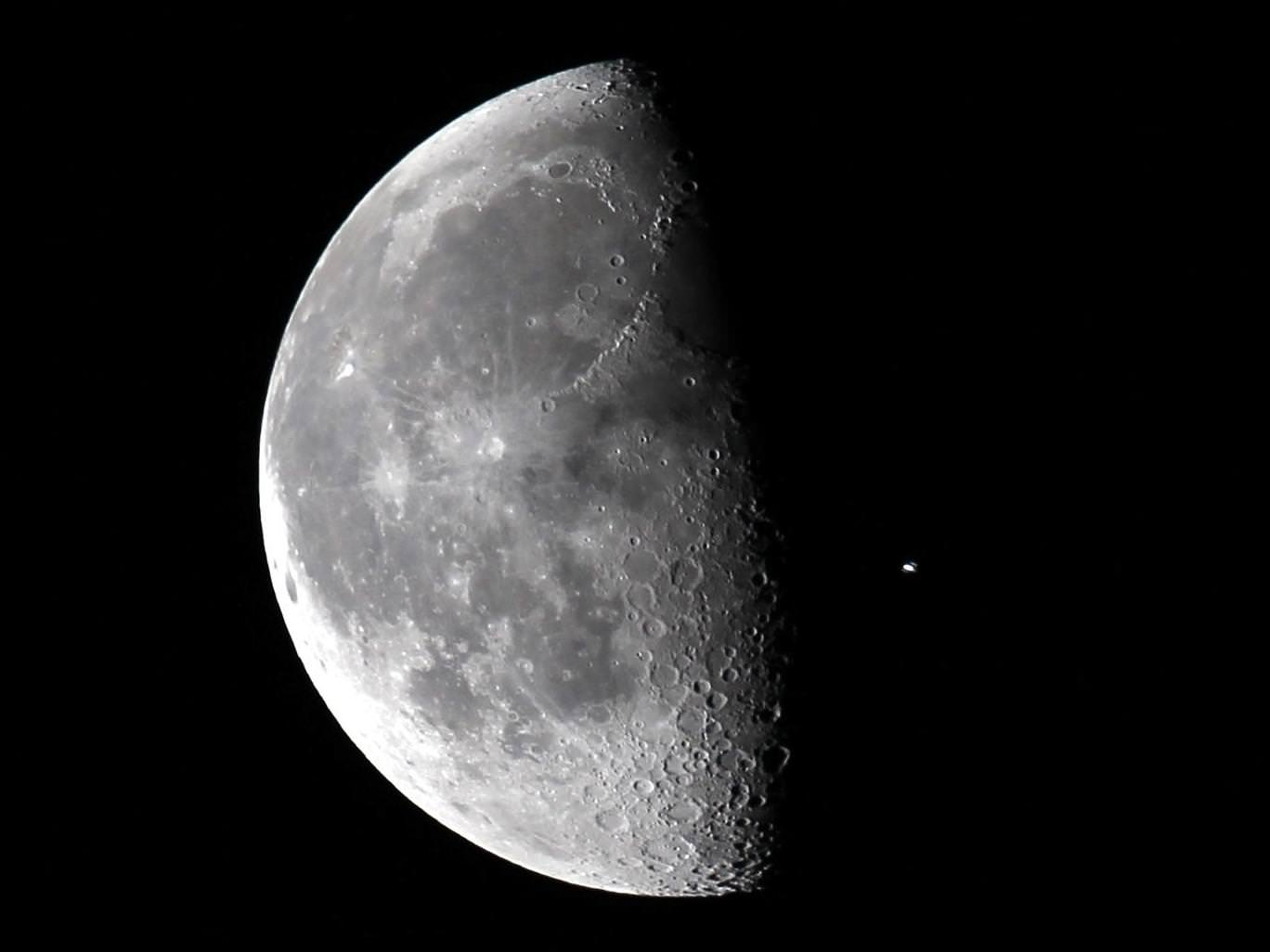First Quarter Moon - Universe Today