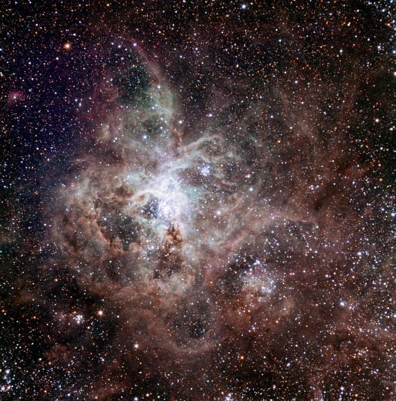 nebulosa tarantola, M83, TRAPPIST, ESO, La Silla, esopianeti
