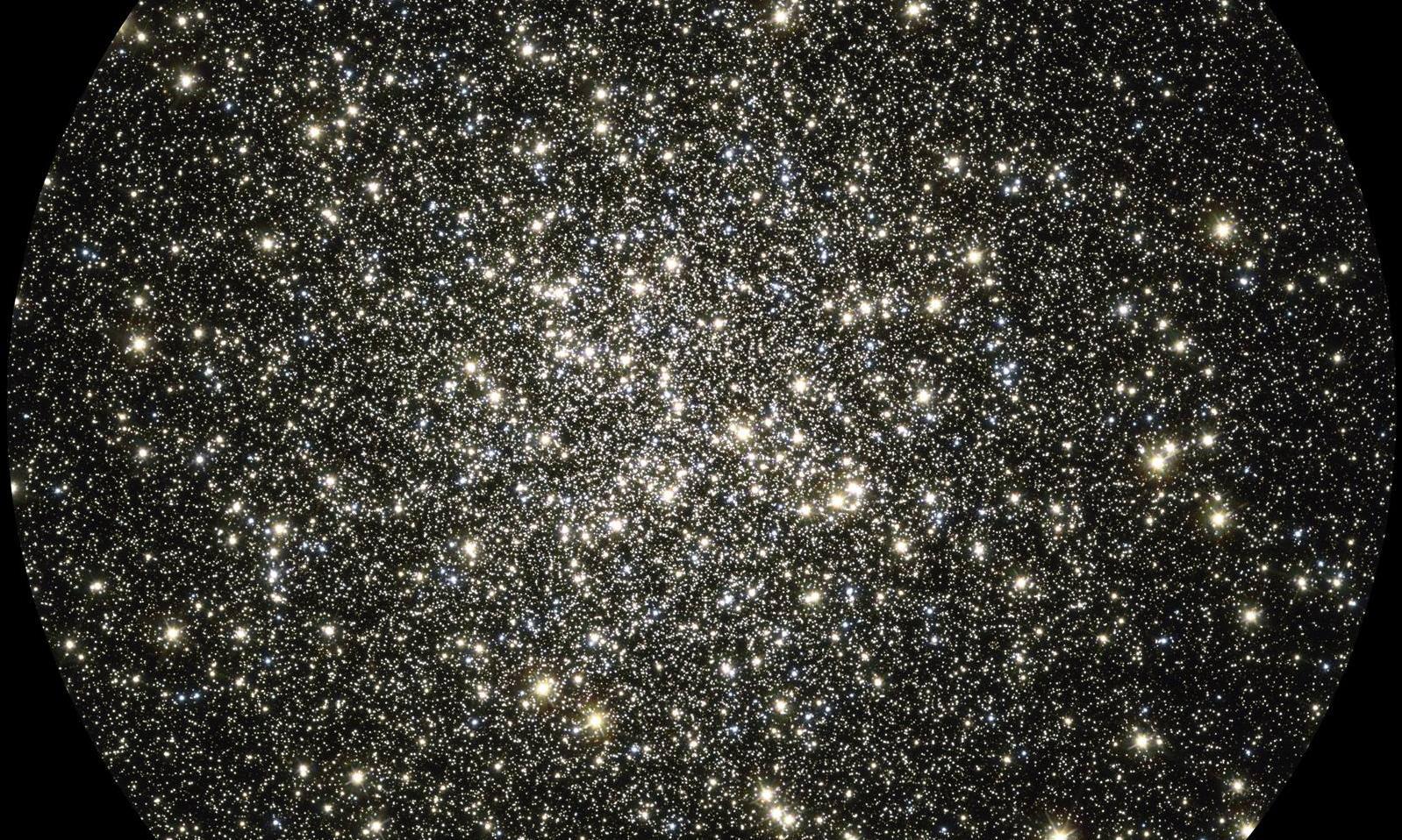Glittering Metropolis of Stars