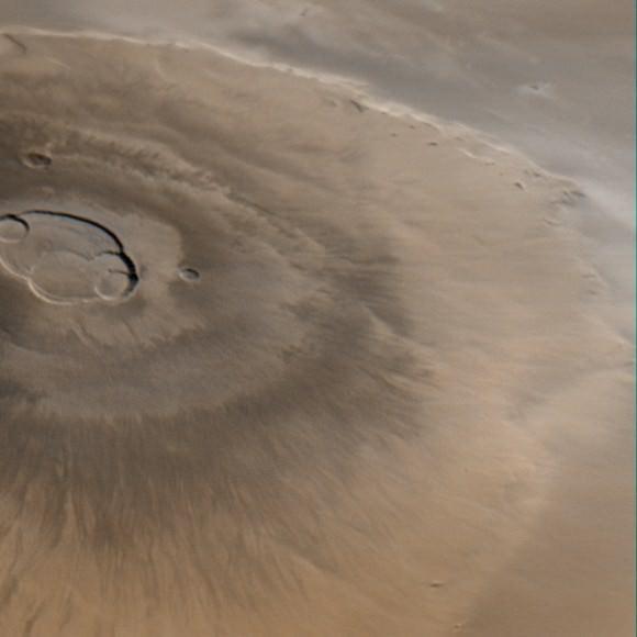Olympus Mons from Orbit