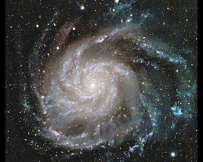 The Pinwheel Galaxy has areas of straight arms.  The Milky Way might, as well. Image Credit: NASA