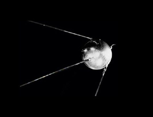 The Sputnik spacecraft stunned the world when it was launched into orbit on Oct. 4th, 1954. Credit: NASA